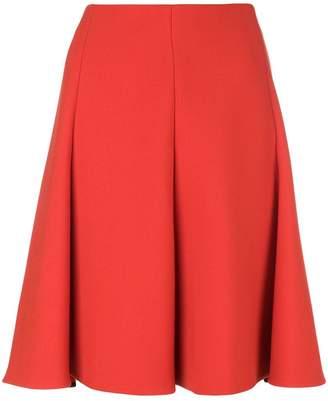 Schumacher Dorothee pleated high-waisted skirt