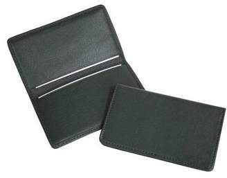 Royce Leather Slim Business Card Case in Genuine Leather