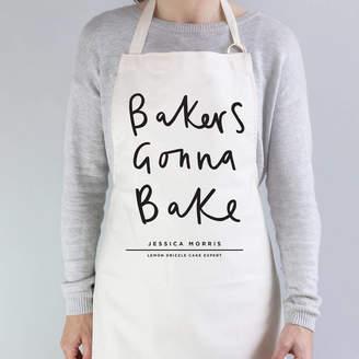 Old English Company Bakers Gonna Bake Personalised Apron