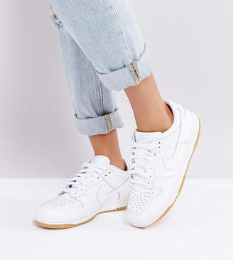 Nike Dunk Low Essential Sneakers In White