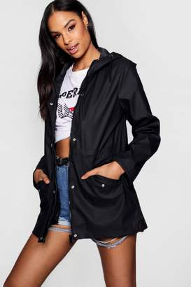 boohoo PU Coated Festival Mac