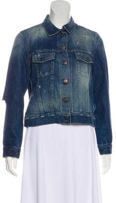 Simon Miller Distressed Harleton Denim Jacket