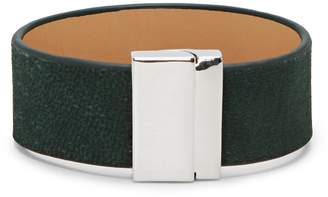 Vince Camuto Green Leather Bracelet