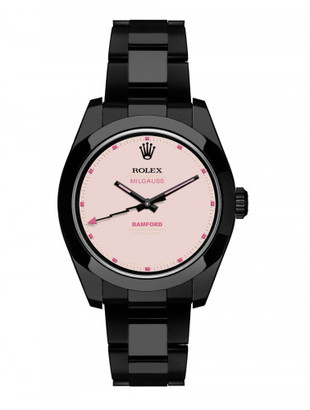 Bamford Bamford x The Webster pink dial Milgauss $17,050 thestylecure.com
