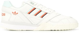 adidas Stripe Detail Lace-Up Sneakers