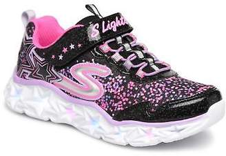 Skechers Kids's Galaxy Lights Trainers in Black