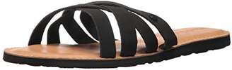 Volcom Women's Garden Party Synthetic Leather Fashion Slide Sandal