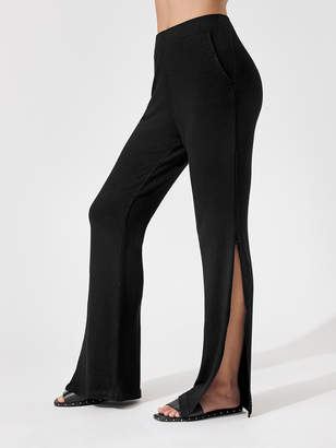Monrow Supersoft Hight Waisted Pant w/ Side Slit