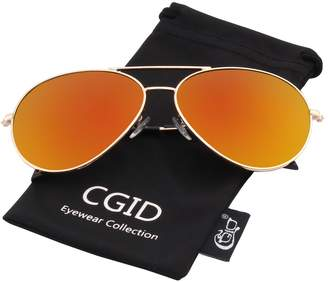 185dd0ffd34 Polaroid CGID Sunglasses Polarized foren and Woen Pilot Sun Glasses Shades  Shield UV400 Protection Dark Glasses