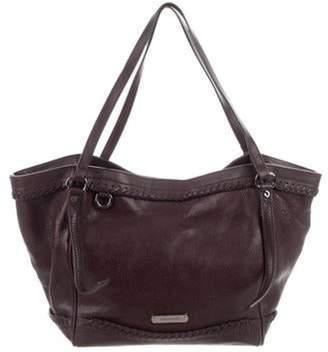 Burberry Leather Shoulder Bag Brown Leather Shoulder Bag