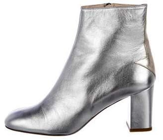Camilla Elphick Metallic Santa Fe Ankle Boots