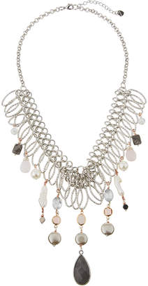 Nakamol Multi-Pearl & Agate Statement Necklace