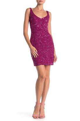French Connection Helen Sequin Body-Con Dress
