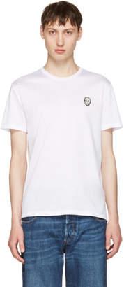 Alexander McQueen White Bullion Skull Patch T-Shirt