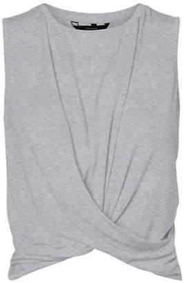 Vero Moda Elia Twisted Cropped Top