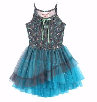 Paper Wings Bluebird Tutu Girls Dress