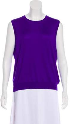 Ralph Lauren Purple Label Cashmere Sleeveless Top w/ Tags