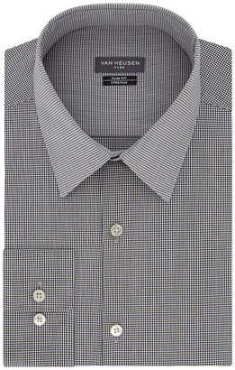 Van Heusen Mens Point Collar Long Sleeve Stretch Dress Shirt