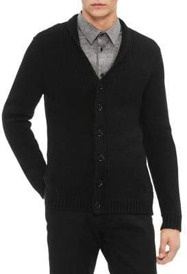 Calvin Klein Super Chunky Buttoned Cardigan
