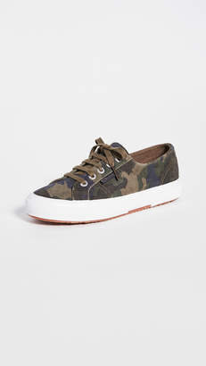 Superga 2750 Sue Camouflage Sneakers