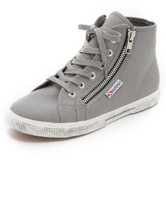 Superga 2224 COTDU High Top Sneakers $85 thestylecure.com