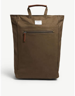 SANDQVIST Olive Green Tony Ground Backpack