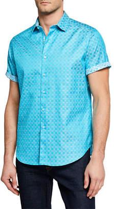 Robert Graham Men's Egyptian Cotton Button Shirt