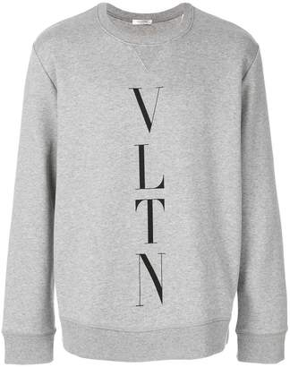 Valentino vltn sweatshirt light grey