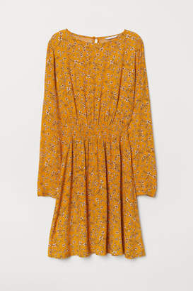 H&M Short Dress - Yellow