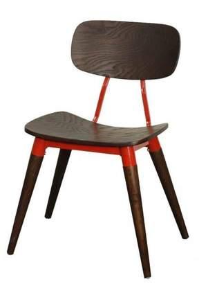 Apt2B Arken Side Chair ESPRESSO/RED