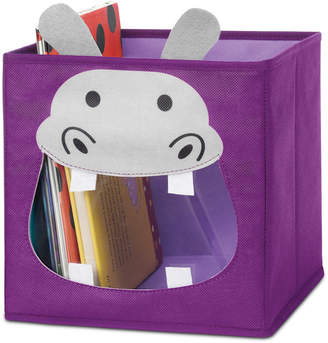 Whitmor Kids Hippo Collapsible Cube