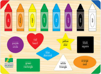 The Learning Journey 16-Piece Colors & Shapes Puzzle