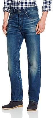 G Star G-Star Men's 3301 7380 Relaxed Jeans, Blue (Dark Aged)