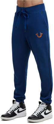 True Religion Men's Buddha Slim Sweatpant
