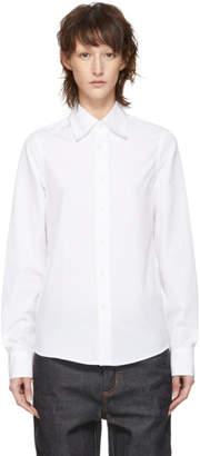 Marni Dance Bunny White Bunny Patch Shirt
