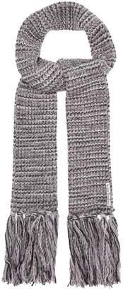 Acne Studios Tassel-trimmed knit scarf