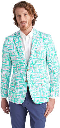 Vineyard Vines Printed Tickets Blazer