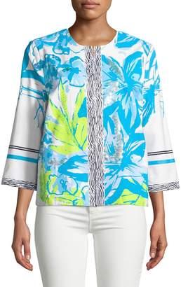 Berek Multi-Pattern Woven Topper Jacket