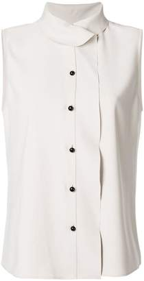 Giorgio Armani sleeveless fitted top