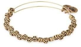 Alex and Ani Paw-Print Beaded Bracelet