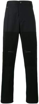 Lanvin patch straight-leg trousers