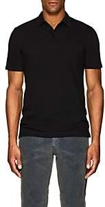 Sunspel Men's Riviera Cotton Polo Shirt - Black