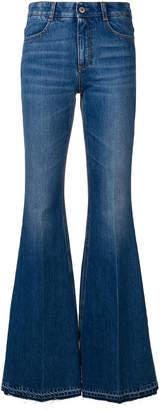 Stella McCartney flared high-waisted jeans