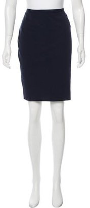 Jean Paul Gaultier Virgin Wool Pencil Skirt $95 thestylecure.com