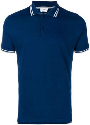 Peuterey contrast striped trim polo shirt