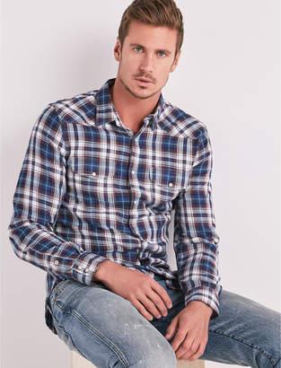 Lucky Brand Indigo Western Shirt