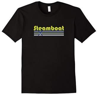 Colorado Cross Skis Retro - Steamboat Springs T-Shirt