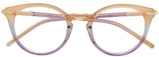 Pomellato Eyewear clear frame glasses