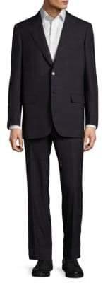 Brioni Classic Fit Plaid Wool-Blend Suit