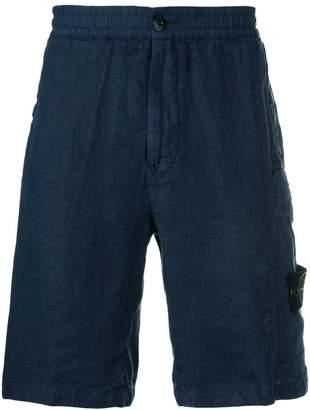 Stone Island multi-pocket shorts